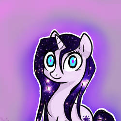 [gift] Spacey pony