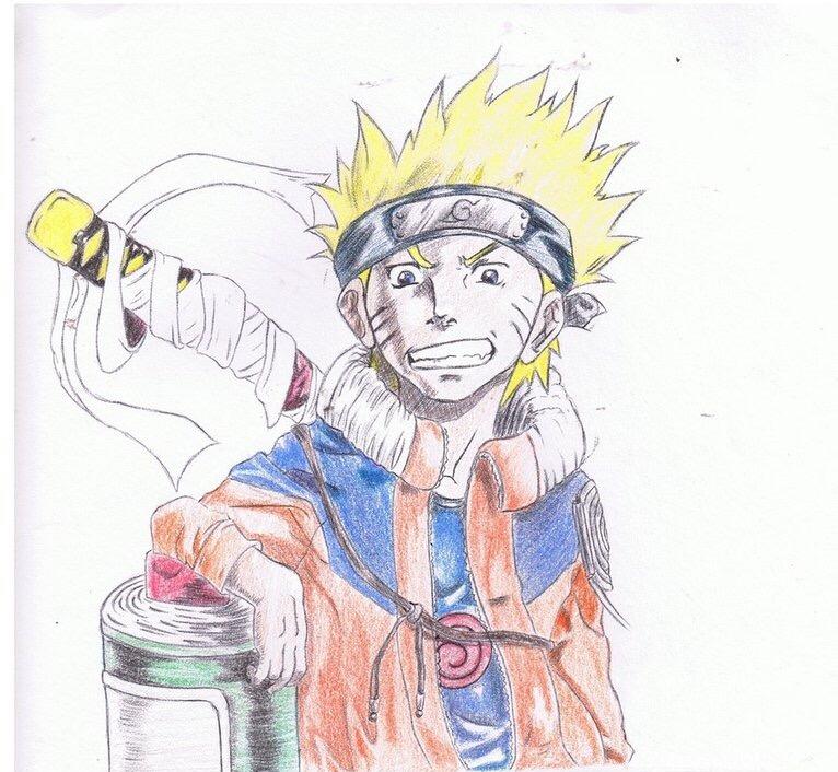 Naruto Uzumaki by ShadeKing14