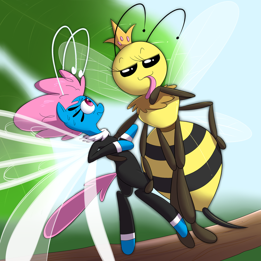 The Breezies and the Bees by khorme