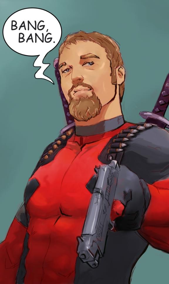 Deadpool by samuraiminister
