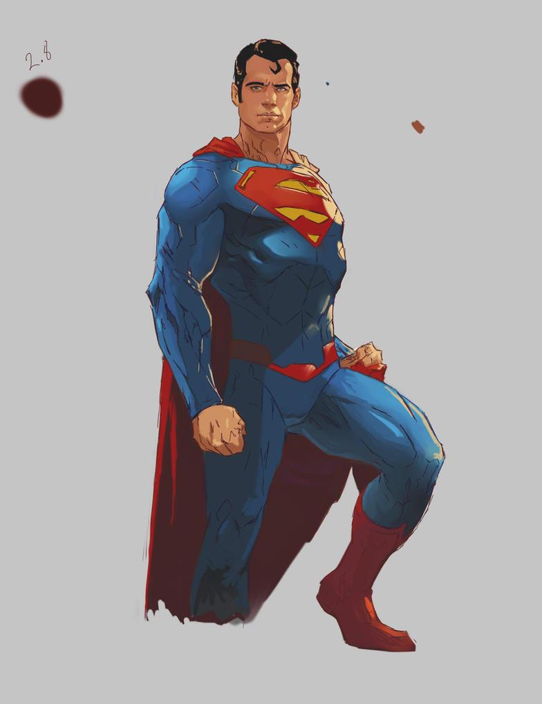Superman by samuraiminister