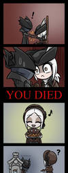 Uncanny Valley (Bloodborne - The Old Hunters) by F-LAO