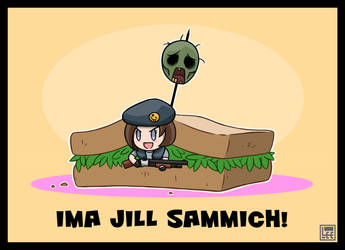 Jill Sammiches! (Resident Evil) by F-LAO