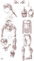 Grey's Knight armor concept