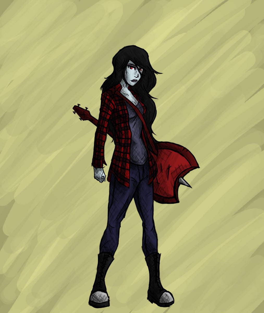 Marceline the Vampire Queen by ArmandDj on DeviantArt