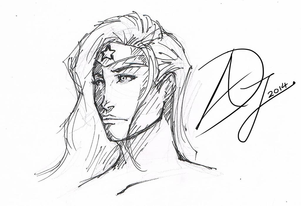 Wonder Woman by Demon-Sword-Art