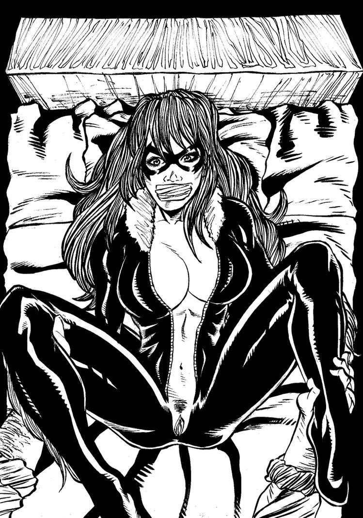 Commission - Black Cat 5 by gagem