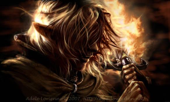 Dark Warrior by Saimain