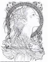 Elvish by Saimain