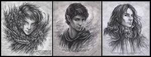 Pencil Commission Portraits
