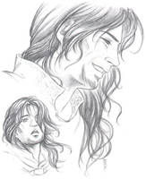 LotR:  Faramir by Saimain