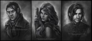 Commission Portraits -Set 3