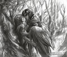 Temptation -sketch by Saimain