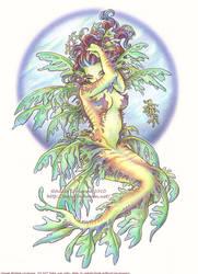 Leafy Sea-Dragon Mermaid by Saimain