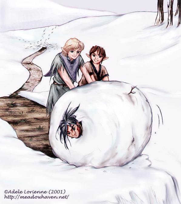 Snowball by Saimain