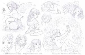 Sketchpage -Elerus 6-7 by Saimain