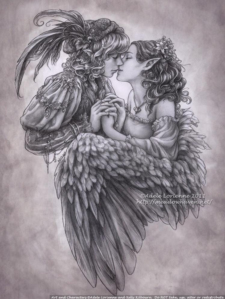 Love Has a Minstrel's Voice by Saimain
