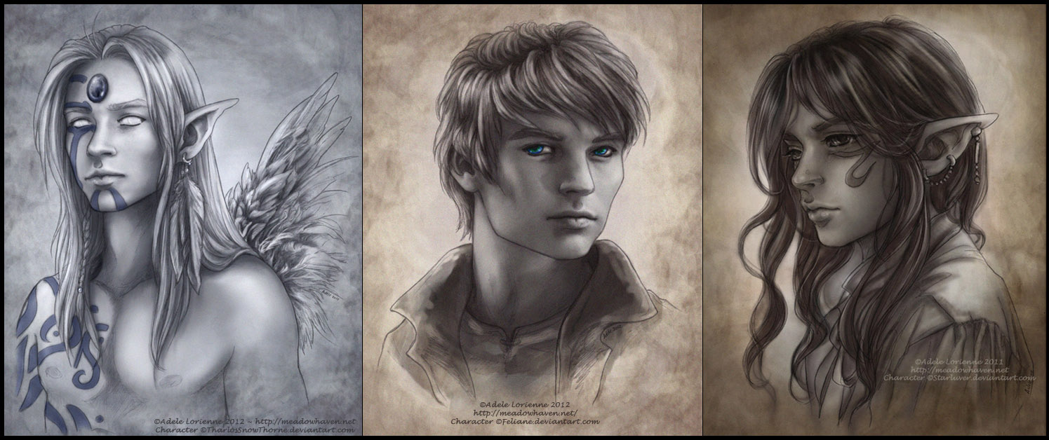 Commission Portraits by Saimain