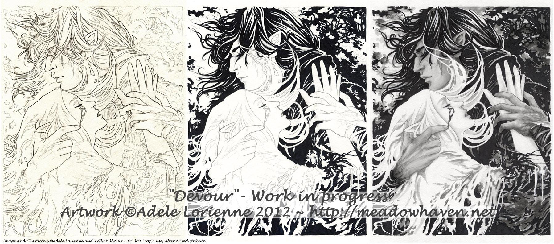 Devour -WIP by Saimain