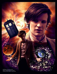 Doctor Who by Saimain