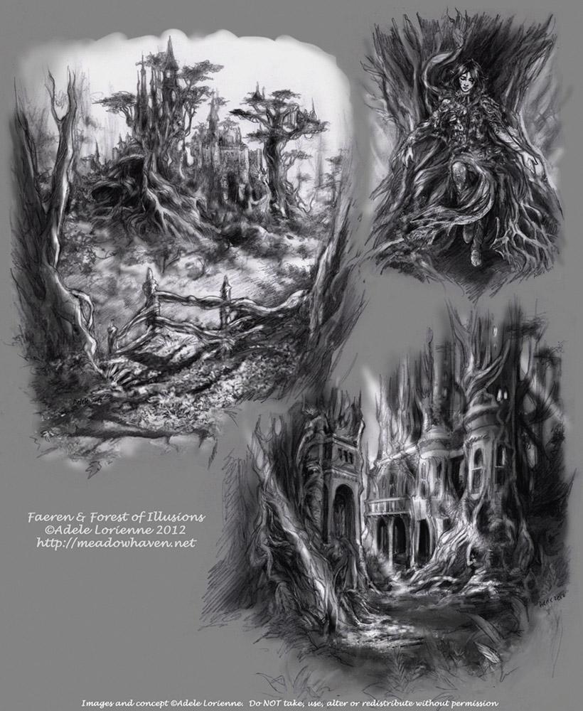 A Forest's Secrets by Saimain