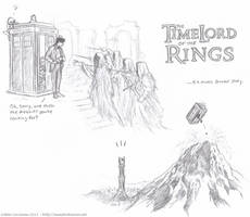 TimeLord of the Rings sketches