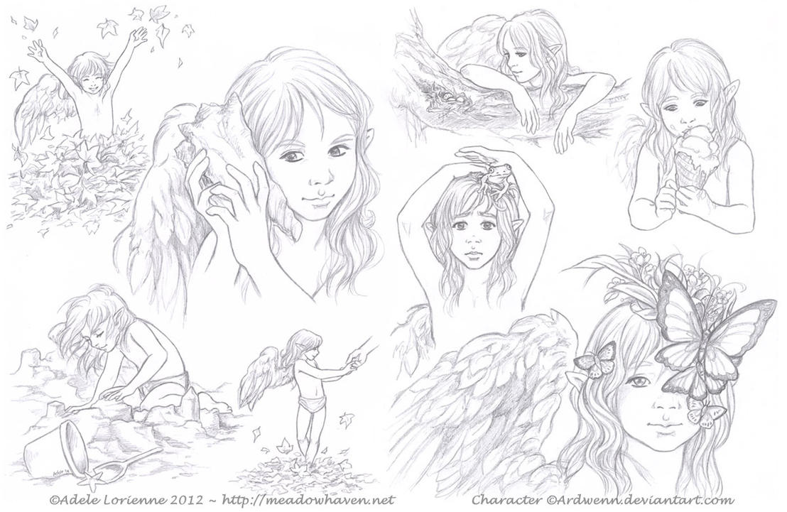 Sketchpage -Elerus-10-11 by Saimain