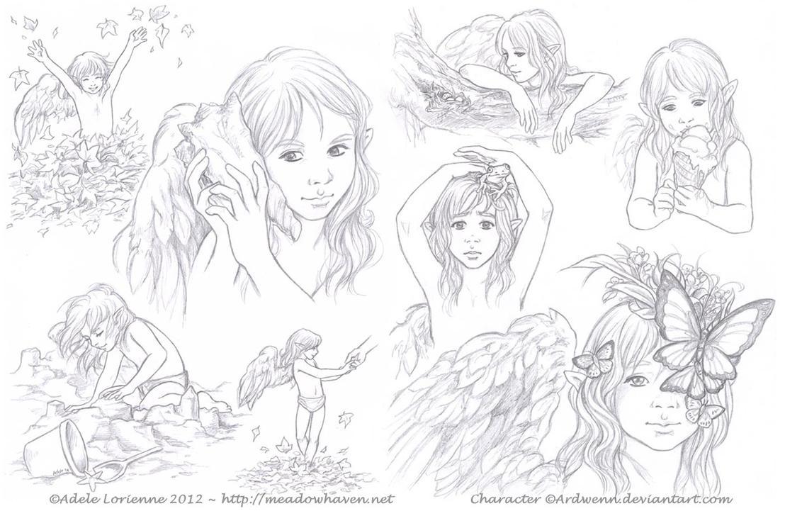 Sketchpage -Elerus-10-11 by Saimain