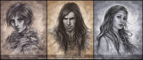 Commission Portraits II by Saimain