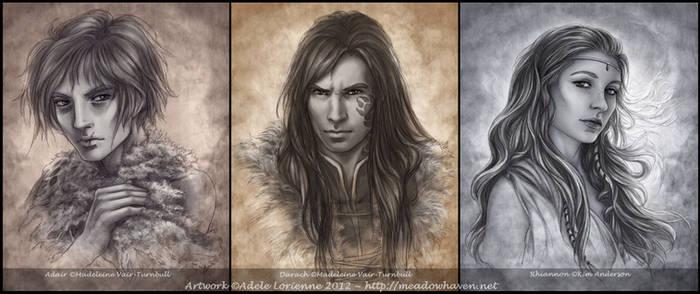 Commission Portraits II