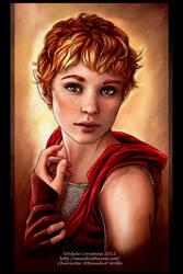 Anais -commission portrait by Saimain