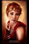 Anais -commission portrait