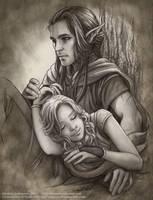 Ray and Kari by Saimain