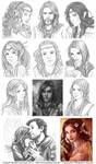 Digital Sketch Commissions 2