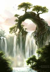 The Nefarine Tree by Saimain