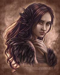 Little Raven by Saimain