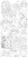 Elerus Sketchpage Commission 27-30