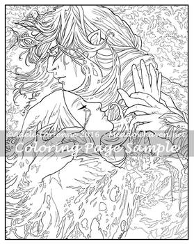 Art of Meadowhaven Coloring Page: Scars