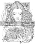 Art of Meadowhaven Coloring Page: Timeless