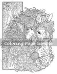 Art of Meadowhaven Coloring Page: Friendship