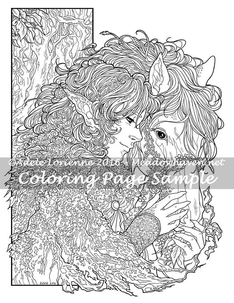 Art of Meadowhaven Coloring Page: Friendship by Saimain on DeviantArt