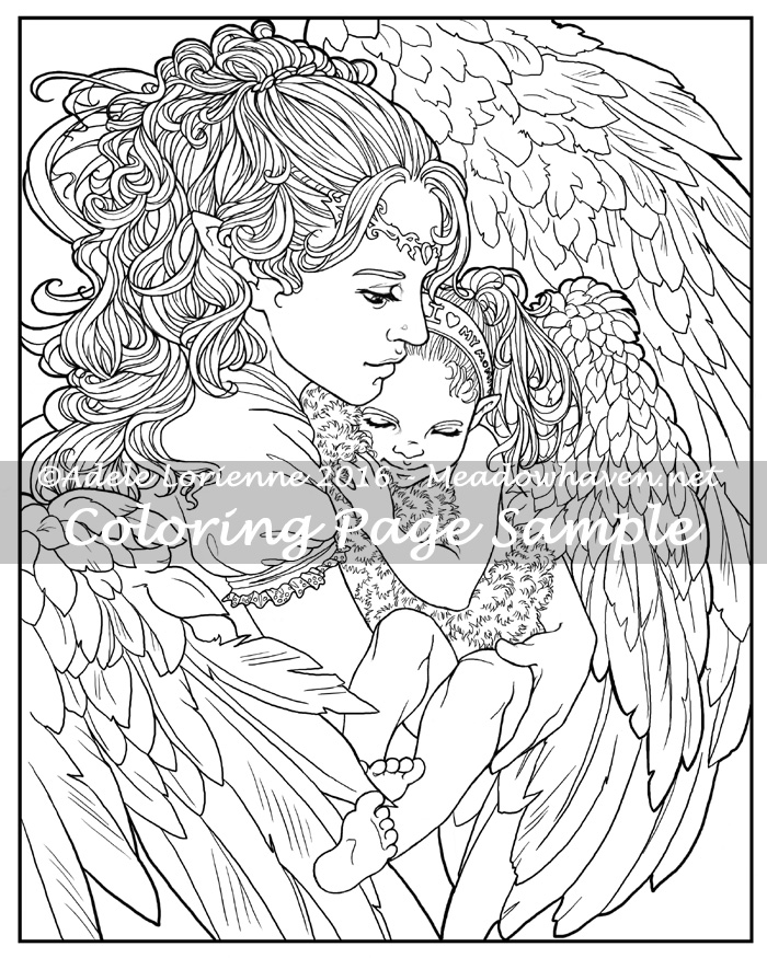 coloring pages fantasy adults - photo#32