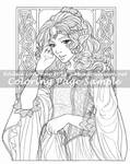 Art of Meadowhaven Coloring Page: Princess