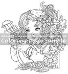 Art of Meadowhaven Coloring Page: Little Minstrel