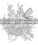 Meadowhaven Coloring Page: Get Your Own Chick!