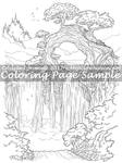 Art of Meadowhaven Coloring Page: Nefarine