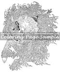 Art of Meadowhaven Coloring Page: MossLord