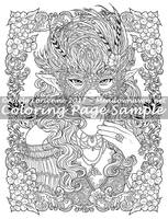 Art of Meadowhaven Coloring Page: Masquerade by Saimain