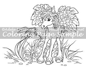 Art of Meadowhaven Coloring Page: Curiosity