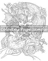 Art of Meadowhaven Coloring Page: New Life by Saimain